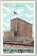 Hotel Ritz Carlton in Atlantic City, New Jersey White Border Postcard Unused