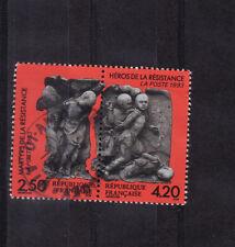 paire martyrs de la résistance   1993  num: 2813/14  oblitéré /5