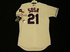 Authentic Sammy Sosa 2007 Texas Rangers Final Season Home Jersey RARE! 44