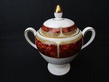 More details for vintage wedgwood lidded twin handled sugar bowl tortoise shell