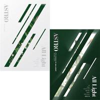 ASTRO [ALL LIGHT] 1st Album RANDOM CD+Photo Book+Post Card Set+Card+Sticker+etc