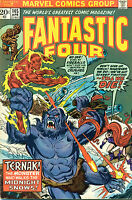 FANTASTIC FOUR #145 (1974) Marvel Comics VG+/FINE-