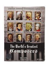 12 Poker Ensemble Limité Worlds Greatest Compositeurs de Collection Edition De
