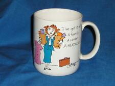 Vintage I'VE GOT IT ALL Mug 1987 Shoebox Greetings Coffee  Humor Ceramic