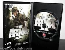 ARMA II  GIOCO USATO OTTIMO STATO PC DVD EDIZIONE ITALIANA PRIMA STAMPA 31326
