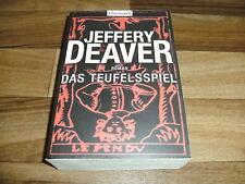"Jeffery Deaver -- TEUFELSSPIEL // vom ""Kathryn Dance"" Autor"
