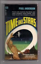 TIME AND STARS ~ POUL ANDERSON ~ MACFADDEN 75-330 1970 2ND