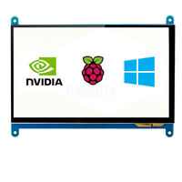 "New 7"" USB HDMI LCD Display Capacitive Touch Screen 800x480 For Raspberry Pi"