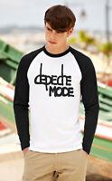 DEPECHE MODE Men Women Long Sleeve T-Shirt Rock Band Unisex Baseball Raglan Top5