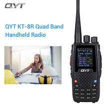 QYT Kt8r Portable Quad-band Vhf/uhf Two Way Radio Amateur FM Transceiver 2000mah