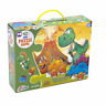 Brand New Boxed/Sealed Grafix Med Dinosaur 33 Piece 3D Jigsaw Floor Puzzle Toy