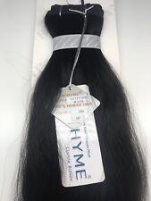 "Bohyme Remi Human Hair Machine-Tied Egyptian Wave 16""-#1B"