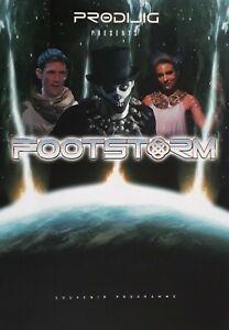Prodijig Presents Footstorm Souvenir Programme.Alan Kenefick/Kim Gavin+