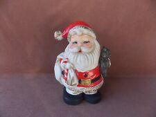 """vtg 6"""" Santa Claus Bank - Homco"""