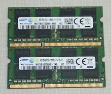 Samsung 16GB (2X8GB) PC3L-12800 DDR3L 1600MHz SODIMM LAPTOP MEMORY