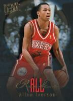 1996-97 FLEER ULTRA ALL ROOKIE ALLEN IVERSON #7 of 15 - MINT PERFECT