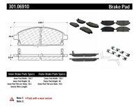 StopTech 301.13380 Premium Brake Pad