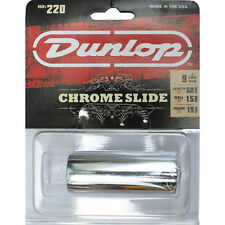 Jim Dunlop Guitar Slide JD220 Chrome Steel. The Brightest Tone Of Any Slide