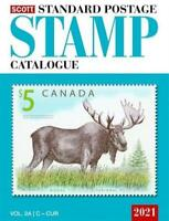 New 2021 SCOTT Standard Postage Stamp Catalog Vol 2 2A 2B Countries C F Canada