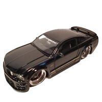 Jada Toys 2005 Ford Mustang GT Black Dub City 3dCarbon 1:24 #90300 Die-Cast
