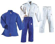 DAN RHO Judoanzug T-Oriental in blau und weiß.100% Baumwolle (850g/m²) Judo Gi