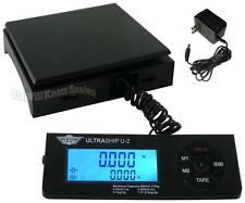 USB 60# My Weigh UltraShip U2 Digital Postal Scale +AC U-2 Shipping Postage