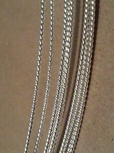 SOLID 925 Sterling Silver Twist Pattern Wire 6in-10ft Gauge 10 thru 20 Dead Soft