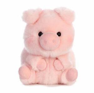 "5"" Aurora World Rolly Pet Plush - Prankster Pig"