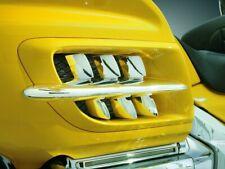 Kuryakyn Chrome Radiator Vent Shark Grills Accent Trim Piece Honda Goldwing 1800
