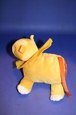 """Ikea Barnslig Lejon BABY LION 8"""" Yellow Orange Plush Crinkle Stuffed Soft Toy"""