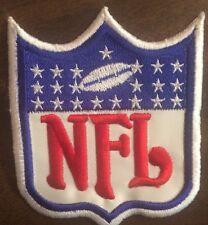 "NFL Shield /crest 3.25""x3.9"" Inch  Sew On / Glue Patch"