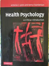 Health psychology ebay health psychology a critical intro paperback textbook lyons chamberlain2006 fandeluxe Gallery