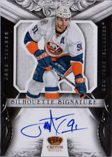 JOHN TAVARES 12-13 Rookie Anthology Crown Royale Silhouette Signatures