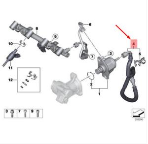 MINI Cooper CLUBMAN R55 High-Pressure Pump Feel Line 13537638494 NEW GENUINE