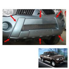 Front Bumper Guard Cover Painted 1 Pc Fit Mitsubishi L200 Triton 2006 09 - 2014