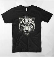 Tiger T Shirt Safari Wild Nature Forest Animals Spirit Moon Love Boho Africa