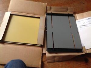 "Omega Saunders 11"" x 14"" Darkroom Photo Enlarging Easels Original Box LOT OF 2"