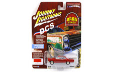 JOHNNY LIGHTNING  1966 FORD FAIRLANE GT 1/64 SIGNAL FLARE RED JLCP7079 B