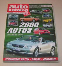 Autokatalog Modelljahr 2002 - Nr. 45 !