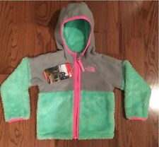 The North Face Infant Girls CHIMBORAZO Green Hoodie 18-24 Months - NWT