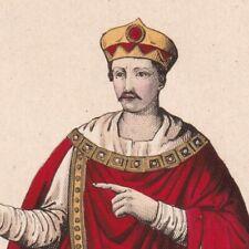 Charlemagne Carolus Magnus Empereur Occident Roi des Francs Roi des Lombards