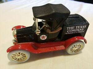 Ertl THE TEXAS COMPANY Replia 1918 Ford Model T Runabout Diecast Car Bank