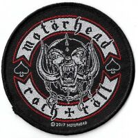 Official Merch Woven Sew-on PATCH Heavy Metal Rock MOTORHEAD Biker Badge