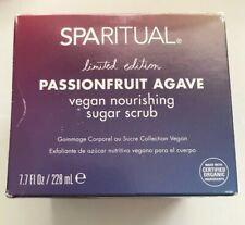SpaRitual Passionfruit Agave Vegan Nourishing Sugar Scrub 7.7 oz, New Limited Ed