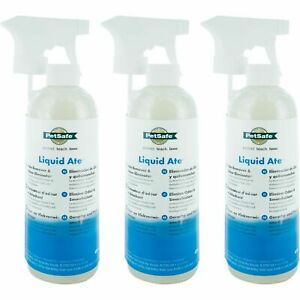3 x PetSafe Liquid Ate Odour Eliminator & Stain Remover 475ml Spray, Dogs & Cats