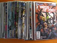 BIRDS OF PREY #1 - 34 ( Black Canary Batgirl) DC comics Hot movie 1st prts  NM+