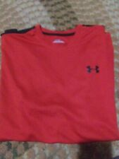 Under Armour Red Shirt for men Size Large