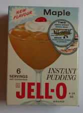 1960's JELL-O Famous Aircraft Original unopened Pack Maple With Coin inside