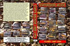 2964. Staffordshire Bus Archive. UK. Buses. 1989-1994. During the course of this