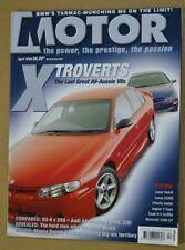 Motor Apr 1999 HSV XU-8 Commodore Ford Falcon XR8 Magna Sports BMW M5 A4 Quattro